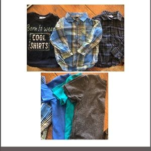 GUC (3) Long sleeves & (3) Short sleeves size 3t